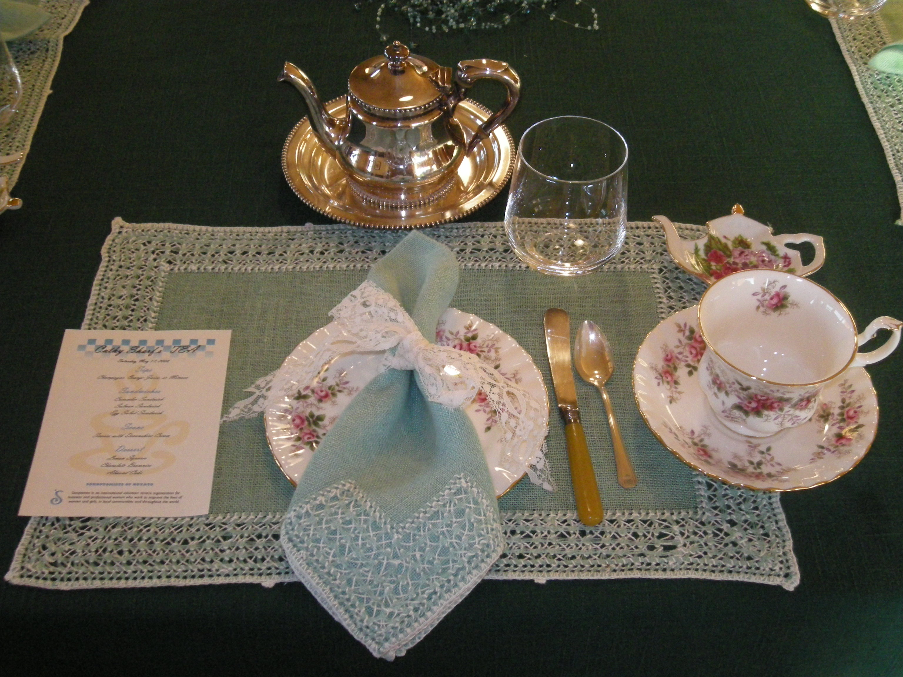 One place setting