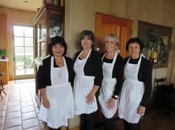 SI club members as maids