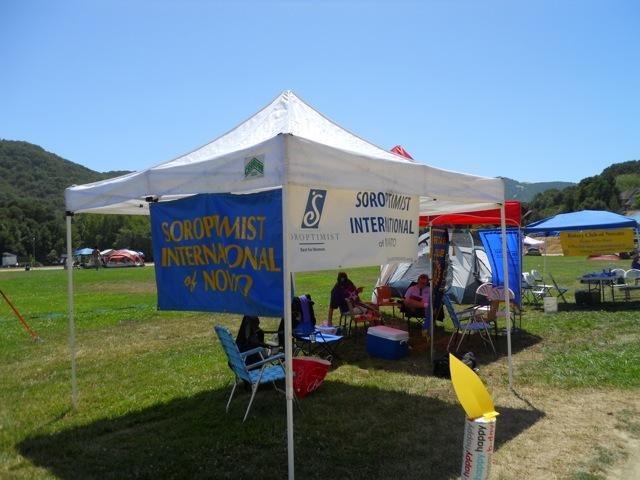Soroptimist Relay for Life Tent 2010