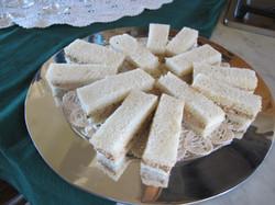 Finger sandwiches for Tea