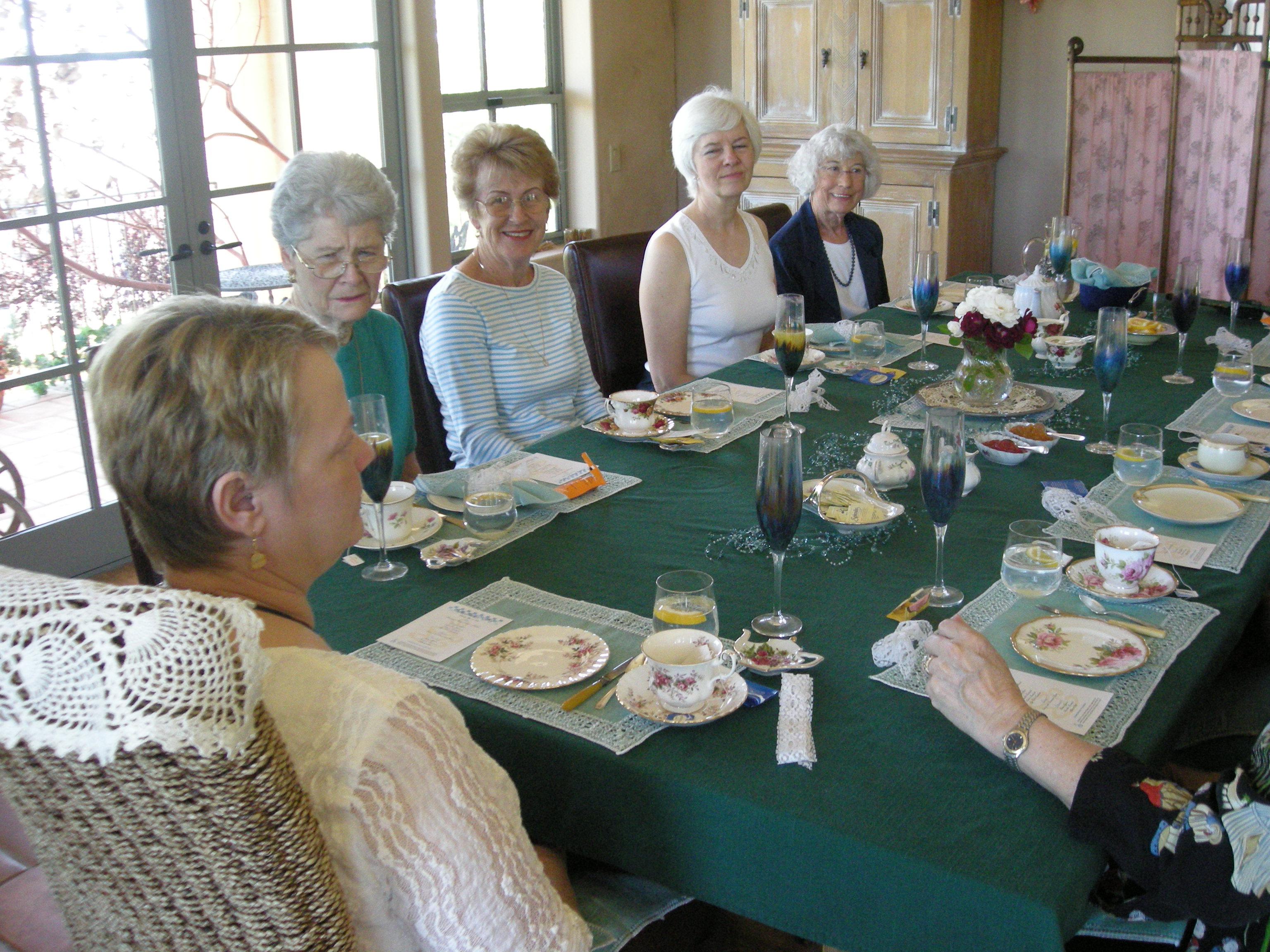 Tea for Ten guests