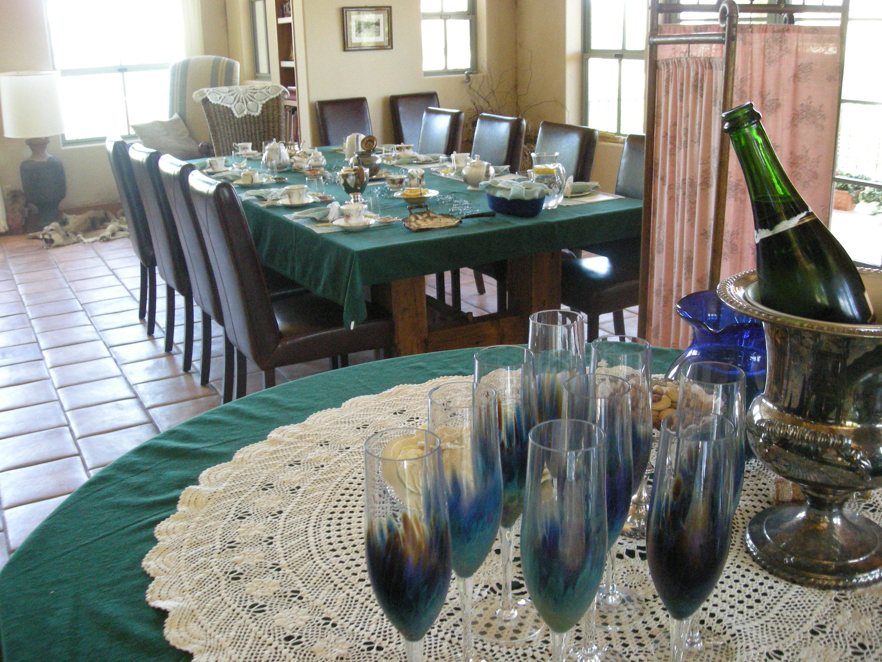 Champagne before Tea