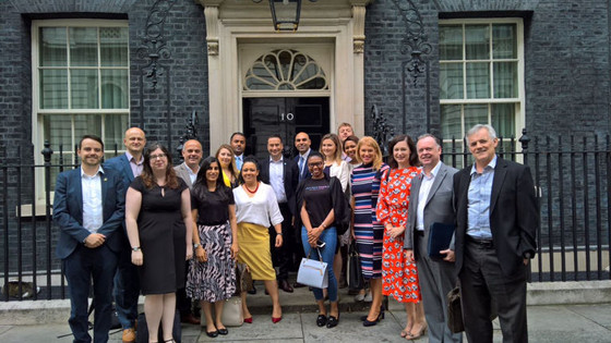 When Our Head Coach Was Invited to No. 10 Downing Street...