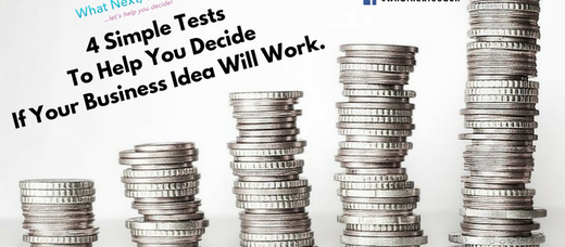 4 Simple Tests To Help You Decide If Your Business Idea Will Work.