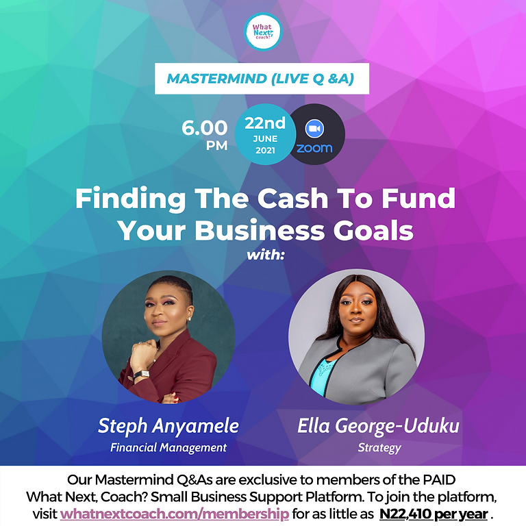 Finding The Cash To Fund Your Business Goals