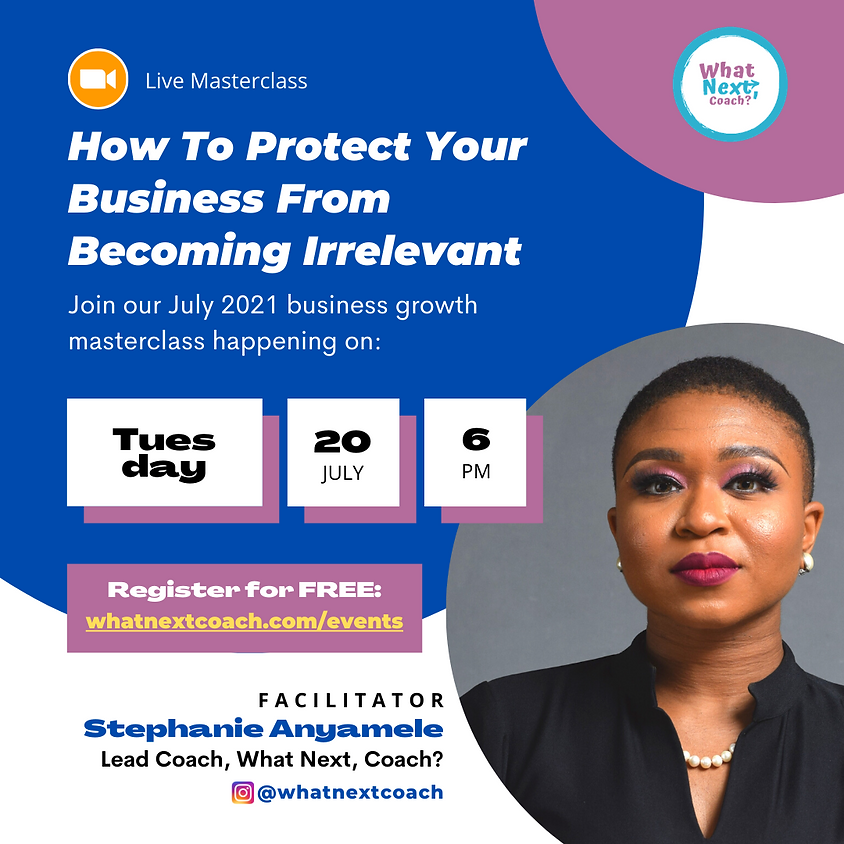 How To Protect Your Business From Becoming Irrelevant