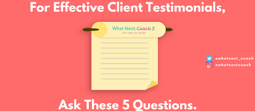 ForEffective Client Testimonials, Ask These 5 Questions.