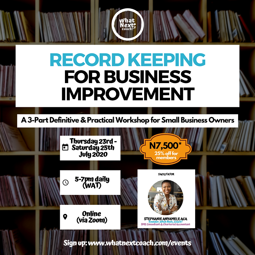 Record Keeping For Business Improvement