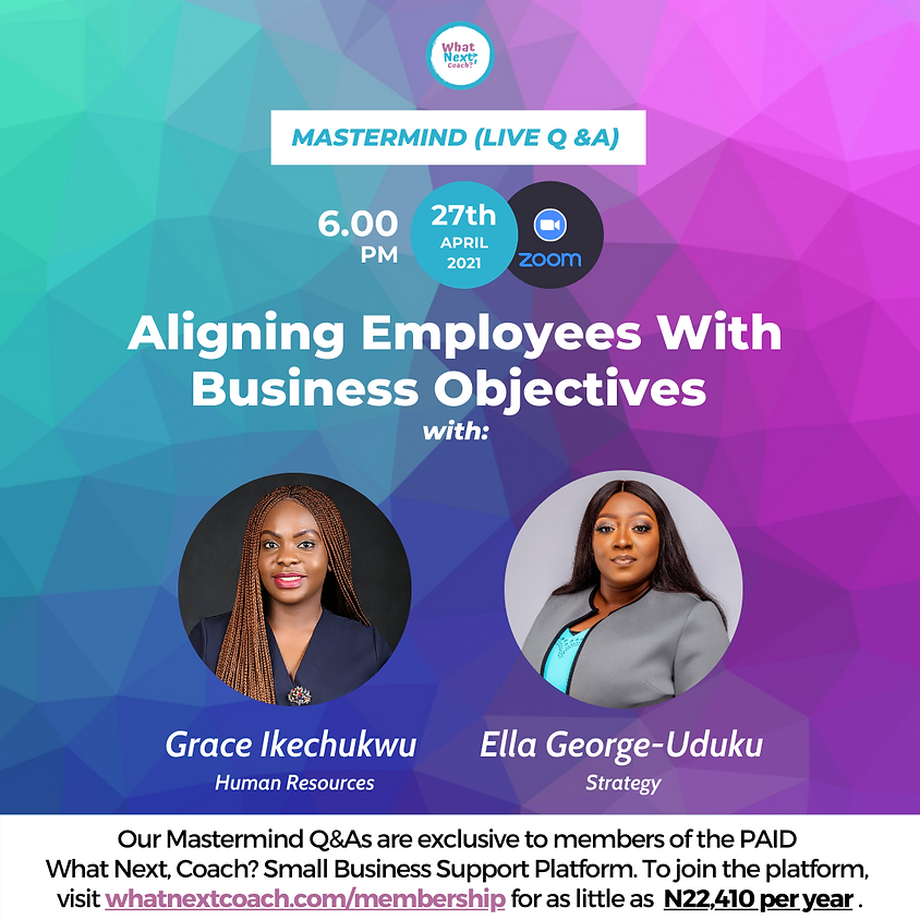 Aligning Employees With Business Objectives
