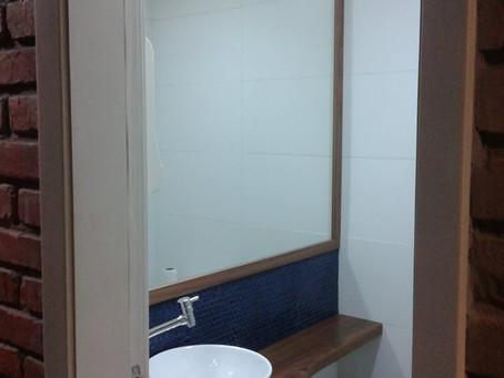 Bancada de banheiro - Cabinet de toilette