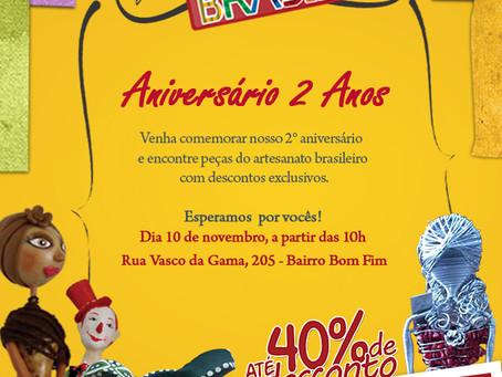 Pérolas do Brasil de aniversário!!