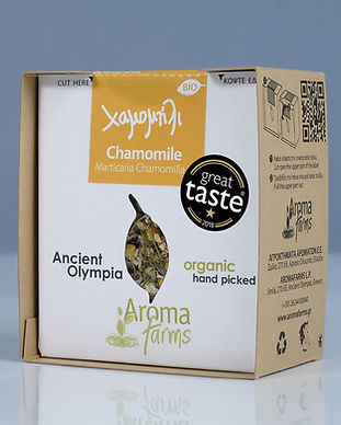 Chamomile-Aroma-Farms-Great-taste-award.