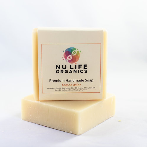 Lemon Mint Soap Bar