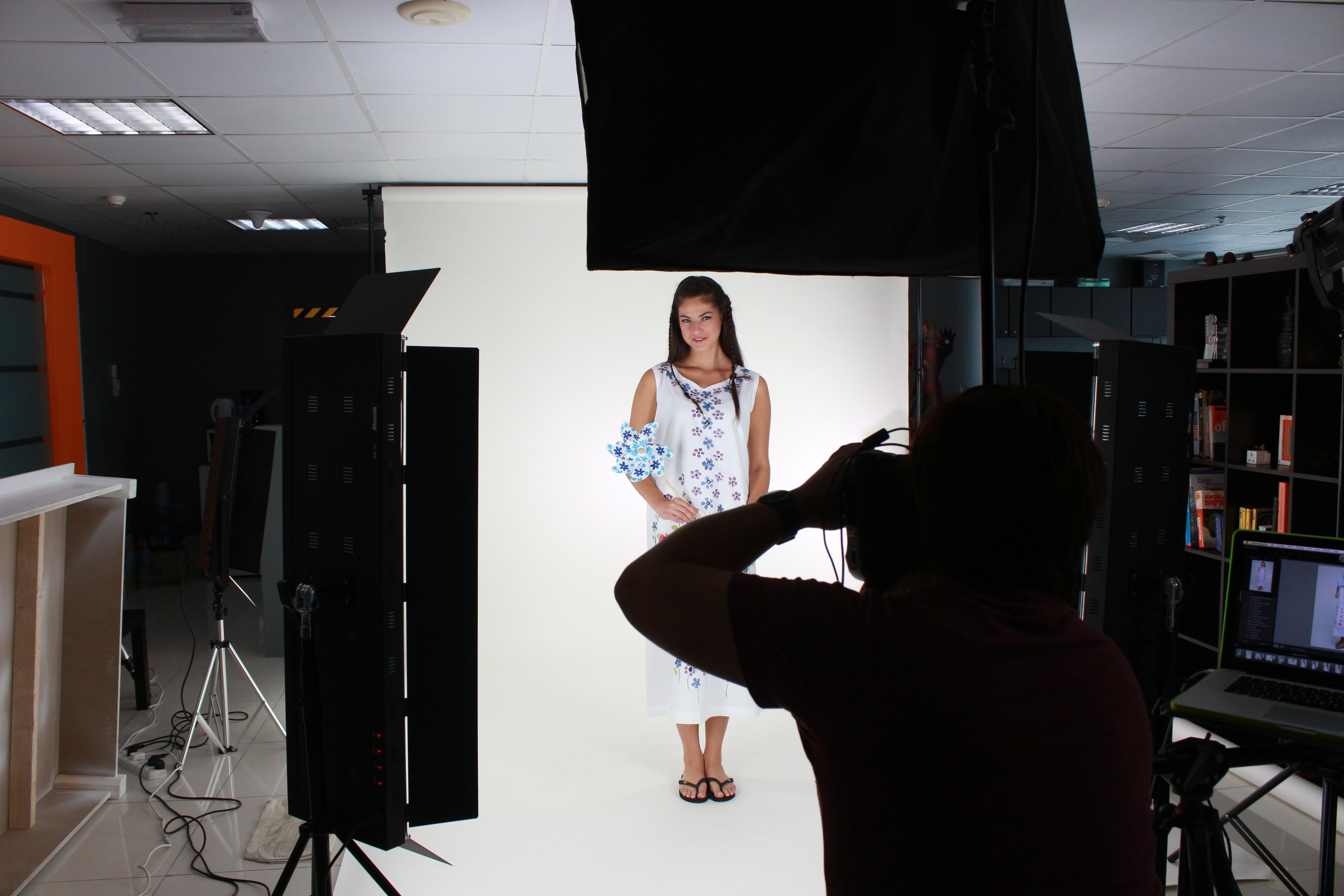 Online store shoot