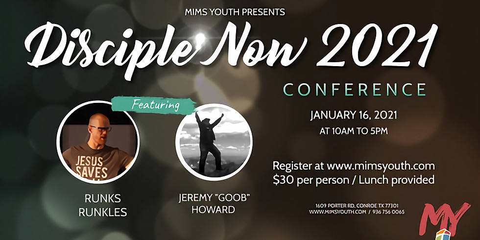 Disciple Now 2021 Conference