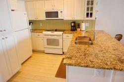 Updated bright kitchen