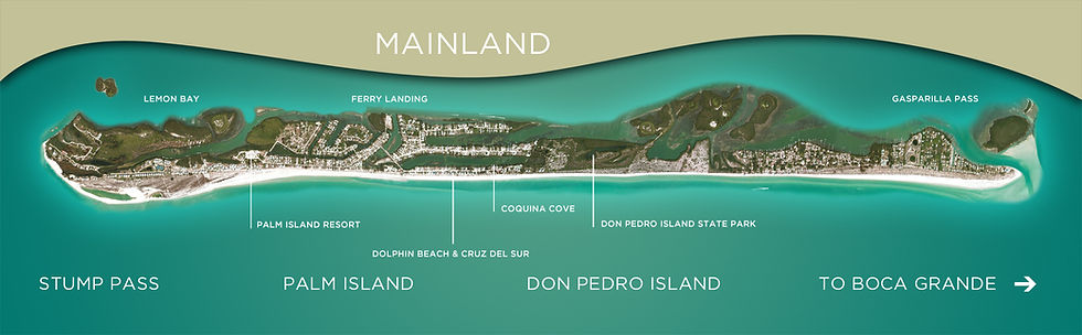image of don pedro island and palm island