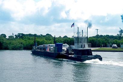 The ferry crossing lemon bay