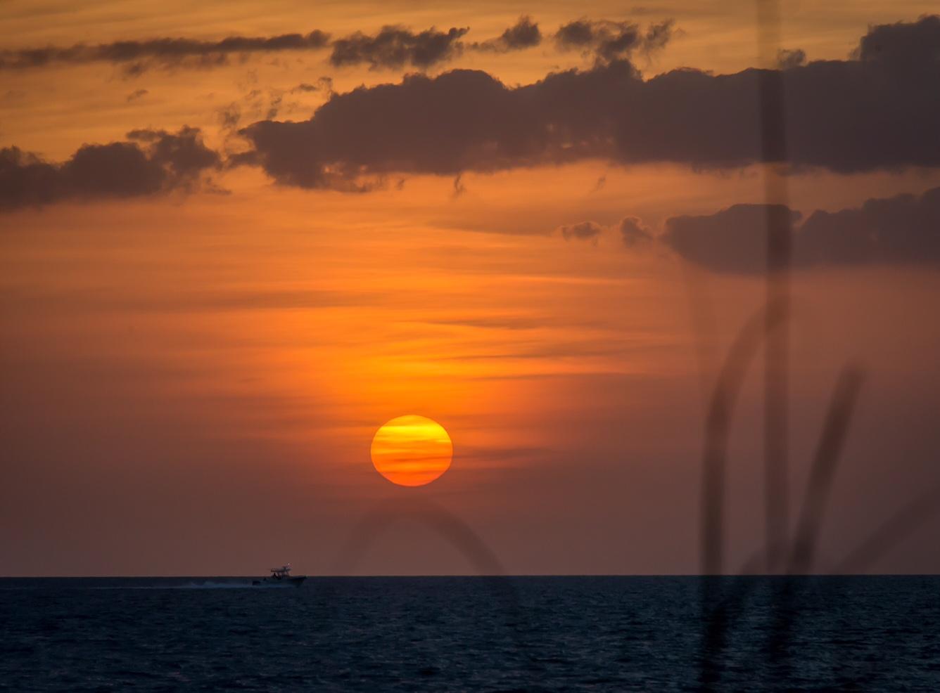 Don Pedro sunset