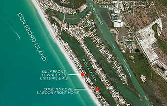 Palm Island Florida Map.Palm Island Florida Vacation Rental Don Pedro Island Getting There