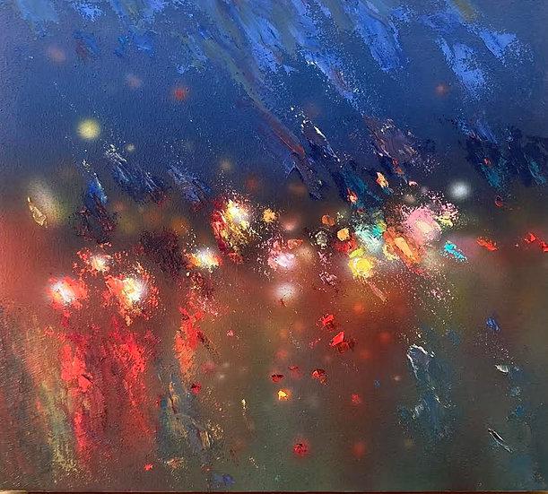 Painting 'Evening Lights'