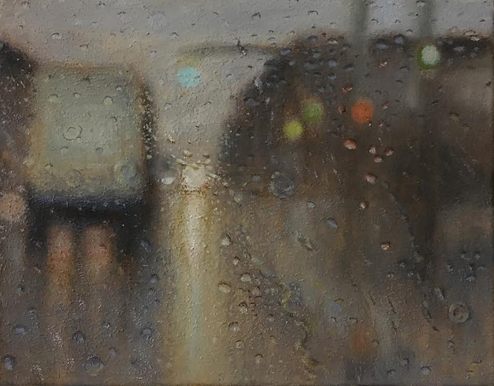 Painting 'Last Run'