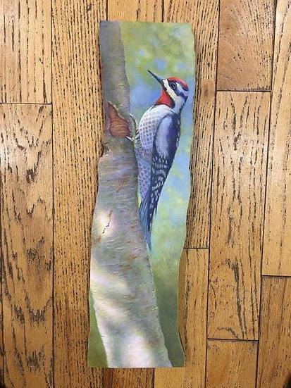 Log Slice Painting