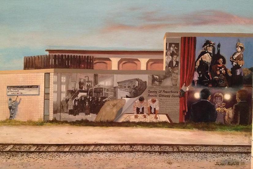 Powerhouse Theatre Mural