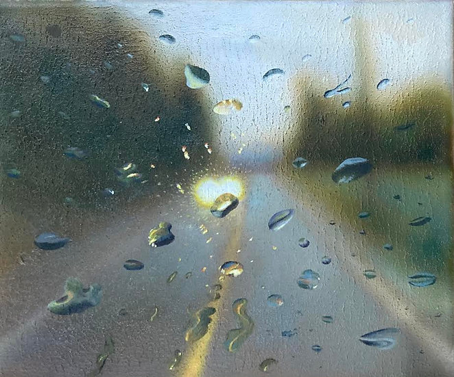Painting 'October Droplets'