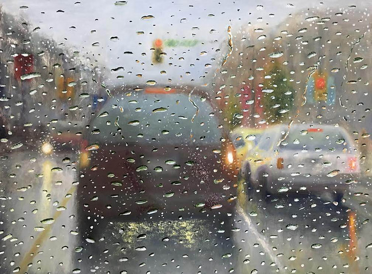 Painting 'Afternoon Rain'
