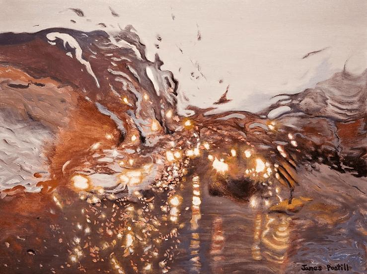 Painting 'Liquid Gold'