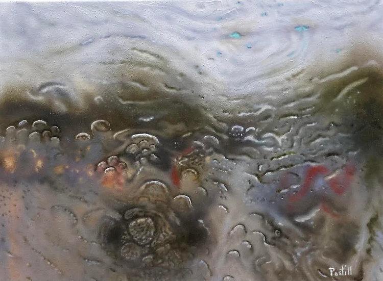 Painting 'Deluge II'