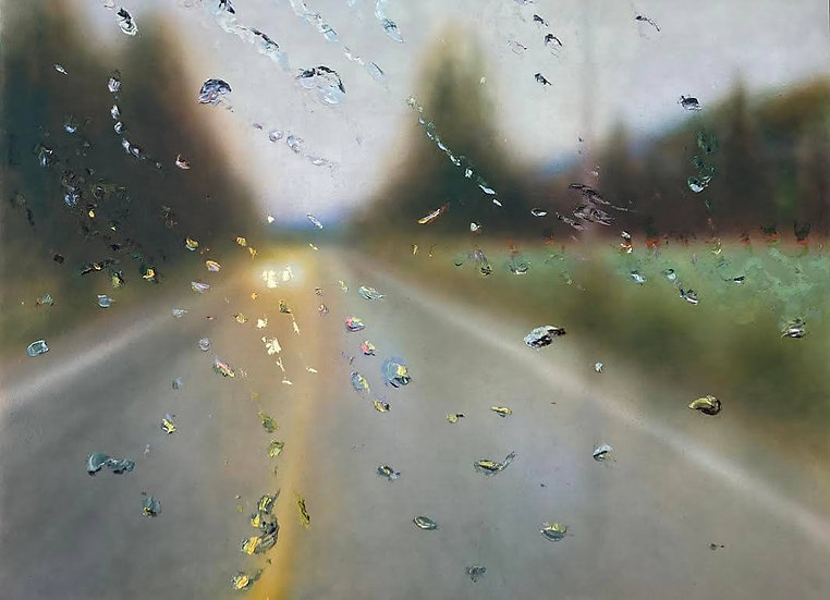 Painting 'Dancing Droplets'