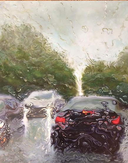 Painting 'Bumper to Bumper'