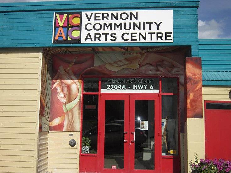 Vernon Community Art Center Fresco Mural