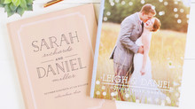 Not So Basic Basic Invite        Personalized Wedding Guest Book