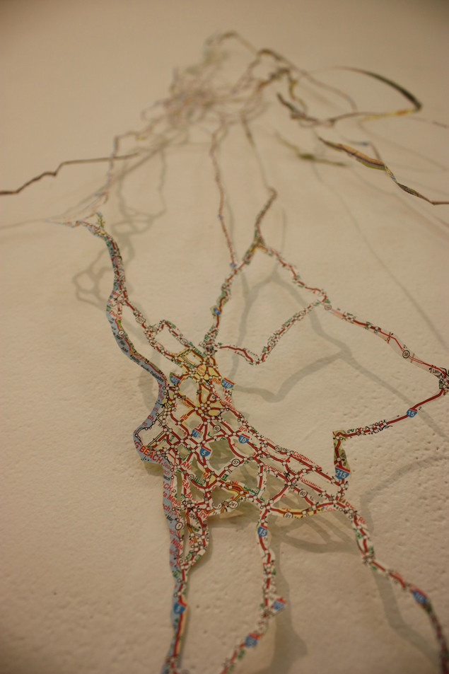 """""""Charted / Uncharted"""" Detail. 2012."""