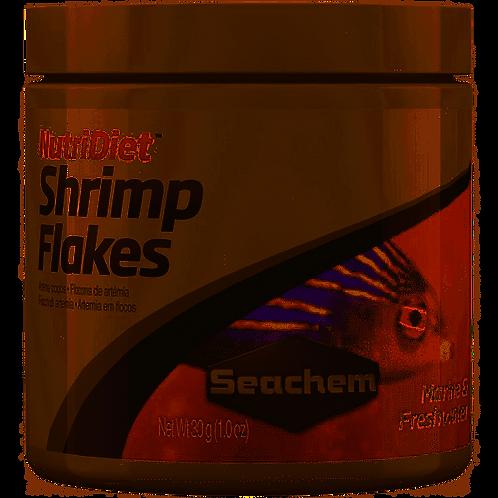 Seachem Nutridiet Shrimp Flakes 30 g | Fishy Biz | Online Aquarium Accessories | Premium Fish Food | Marine and Freshwater