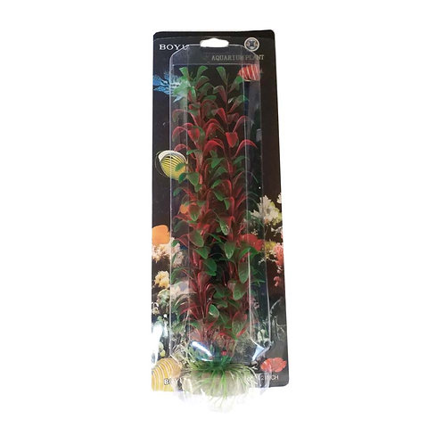 Boyu Plastic Plant 12 inch | Fishy Biz | Aquarium Accessories | Fish Tank Decorations | Online Aquarium Supplies
