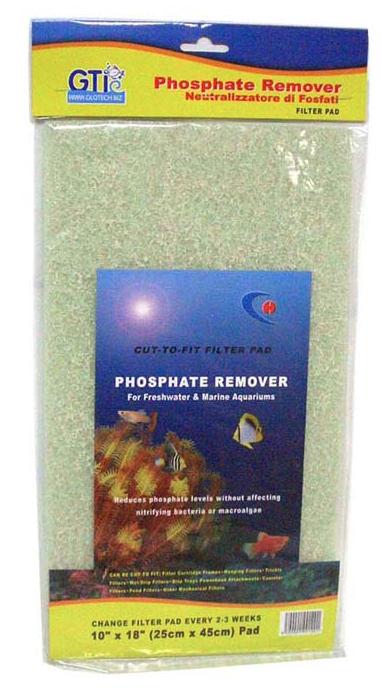 Pet Worx Phosphate Remover Pad 10 x 18 inch   Fishy Biz   Aquarium Filter Accessories   Online Aquarium and Fish Supplies  