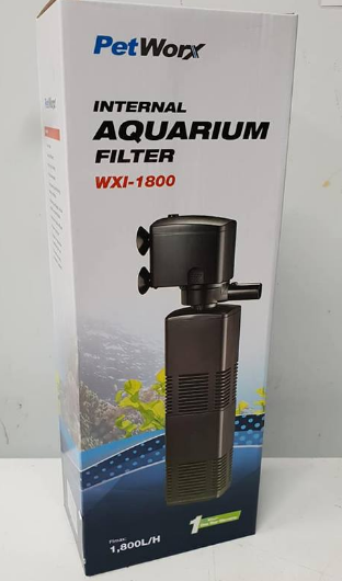 Pet Worx  Internal Filter 1800 LPH | Aquarium Accessories | Fish Tank | Fish Accessories | Aquarium Centre