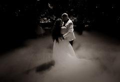 couple first dance wedding photo