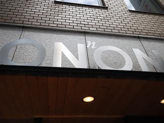 ONNON TOKYO オープン1周年