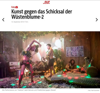 """Hedoné in """"Berliner Zeitung"""""""