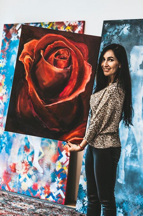 The Bloody Rose of Feminity