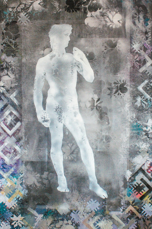 David in Slavic Design (From the Fusion of Cultures Collection)