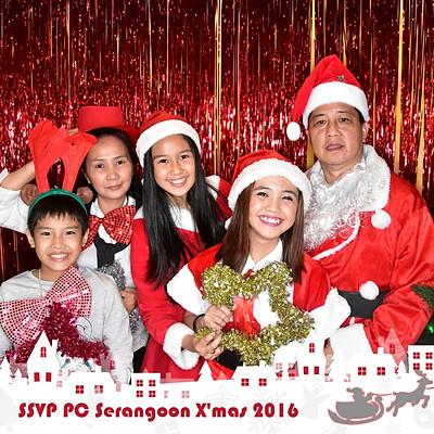 SSVP PC Serangoon Christmas Celebration 2016
