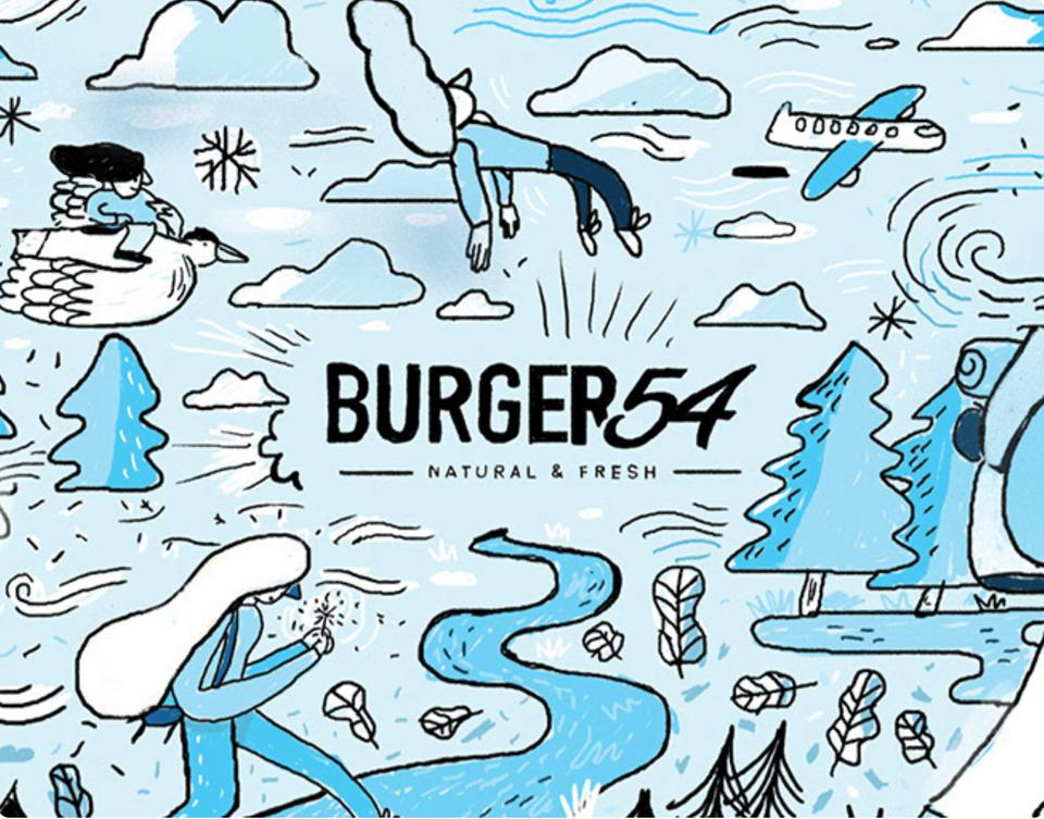 Burger 54   Vasos coleccionables