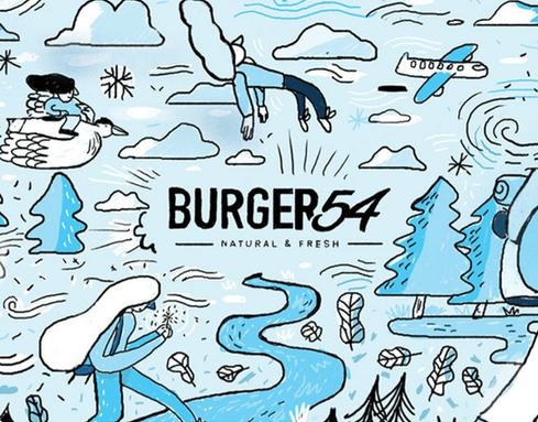 Burger 54 | Vasos coleccionables