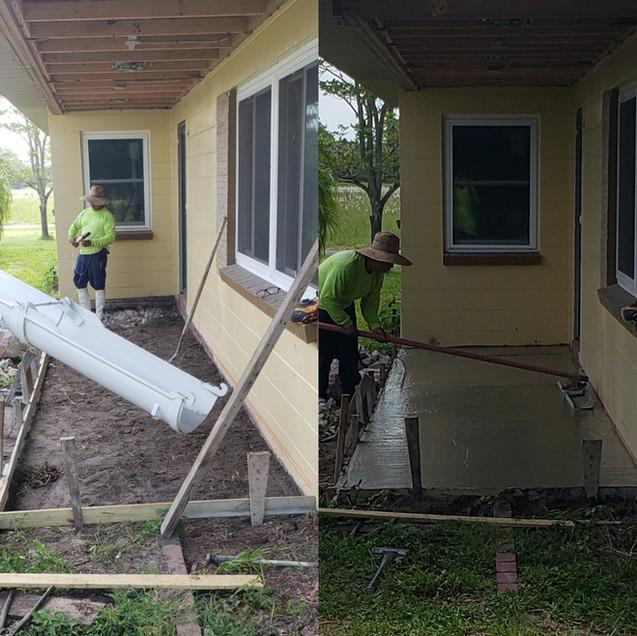 Front Porch Installation